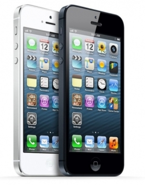 IPhone 5 black 1 Sim (Quad-Core MTK 6589)