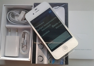 iPhone 4 16GB Neverlock White&Black НОВЫЙ