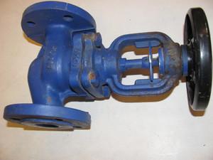 клапан запорный dn25 фланцевый
